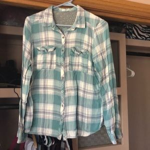 Maurices Tops - flannel !!!!
